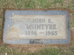 John Edward McIntyre
