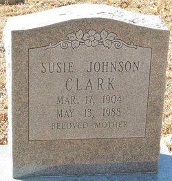 Susie <i>Johnson</i> Clark