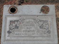 Geraldine Mary Gerry Potapoff