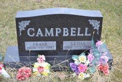 Letha Elizabeth <i>Guilliams</i> Campbell