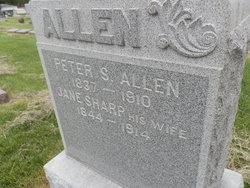 Jane <i>Sharp</i> Allen