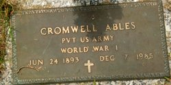 Pvt Cromwell Ables