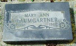 Mary Ann Baumgartner
