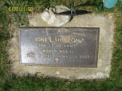 Lieut Ione Luella <i>Kiplinger</i> Shelton