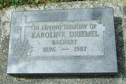 Karoline <i>Driemel</i> Bachert