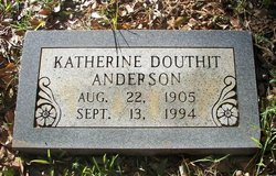 Katherine <i>Douthit</i> Anderson
