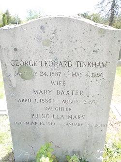 Mary <i>Baxter</i> Tinkham