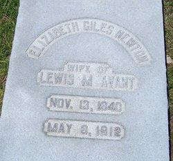 Elizabeth Giles <i>Newton</i> Avant