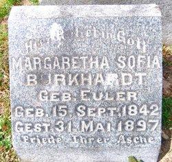 Margaretha Sofia <i>Euler</i> Burkhardt