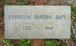Cornelia <i>Dawson</i> Hape