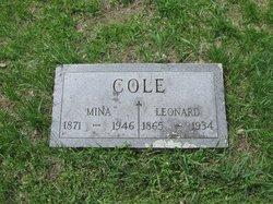 Mina E. Cole