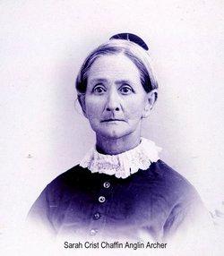 Sarah L <i>Crist</i> Chaffin