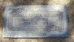 Donald Kreeck Allison