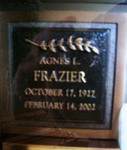 Agnes Lorraine <i>Kludt</i> Frazier