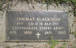Pvt Thomas Blackmon