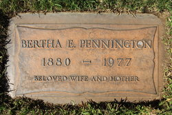 Bertha Evelyn <i>Ward</i> Pennington