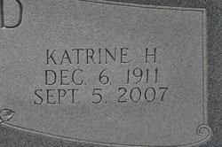Katrine <i>Harris</i> Alford