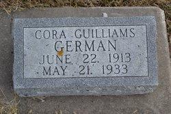 Cora May <i>Guilliams</i> German