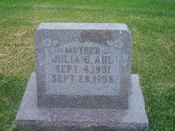 Julia Matilda <i>Gude</i> Ahl