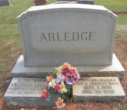 Ruth <i>Warfield</i> Arledge Lockfield