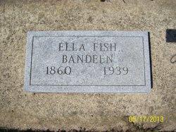 Sarah Ellen Ella <i>Fish</i> Bandeen