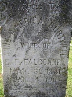 Anne America <i>Burtwell</i> Falconnet