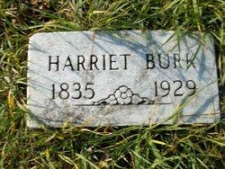 Harriet L <i>Johnson</i> Burk