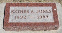 Esther A. <i>Craven</i> Jones
