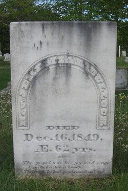 Rev Jeremiah Bullock
