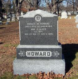 Ann Augusta <i>Alger</i> Howard