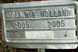Josiah E Holland