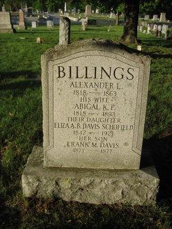 Abigail K. <i>Pratt</i> Billings