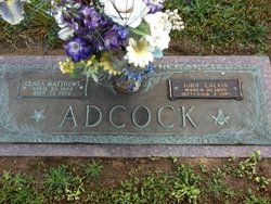 Clara <i>Matthews</i> Adcock