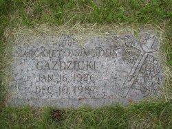 Margaret J <i>Simmons</i> Gazdzicki