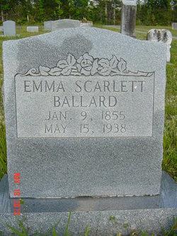 M. Emma <i>Scarlett</i> Ballard