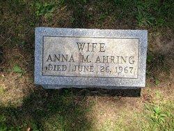 Anna M. Ahring
