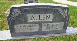 Mary Elizabeth <i>Mason</i> Allen