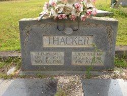 PFC Henry M. Thacker