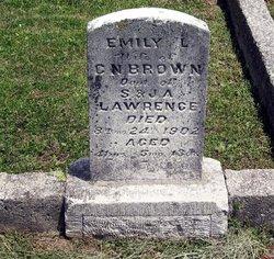 Emily L <i>Lawrence</i> Brown