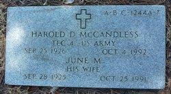 June M McCandless