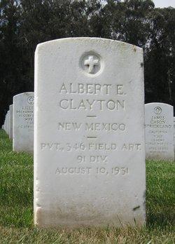 Albert E Clayton