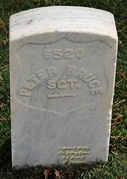 Sgt Peter Bruce