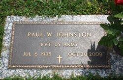 Paul W. Johnston, Sr
