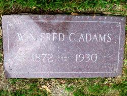 Winifred C <i>Will</i> Adams