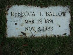 Rebecca Pegues <i>Torbert</i> Ballow