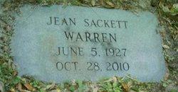 Jean <i>Sackett</i> Warren