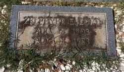Zelphyer E. <i>Miller</i> Lord