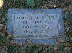 Alma Glen <i>Jones</i> Hullinger