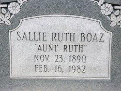 Sallie Ruth Boaz