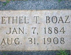 Ethel T. Boaz
